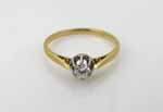 solitaire 0,15 ct